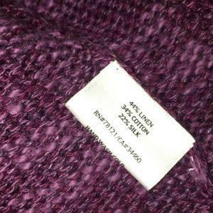 Eileen Fisher Sweaters - Eileen Fisher open front linen blend cardigan